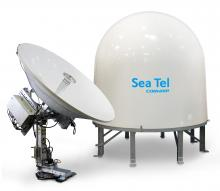 Sea Tel 6012 C-band VSAT