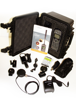 Iridium EXTREAM 9505 To Go Kit - Black